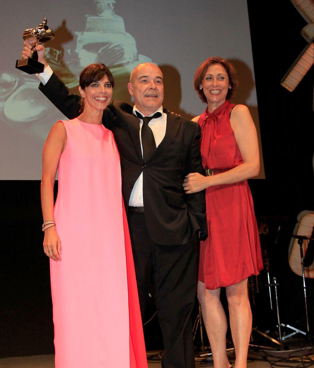 Antonio Resines recoge su premio, el Faro Homenaje