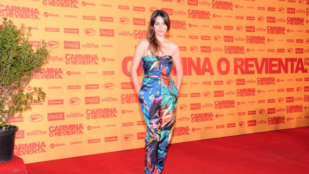 Blanca Suárez, vestida de Salvatore Ferragamo