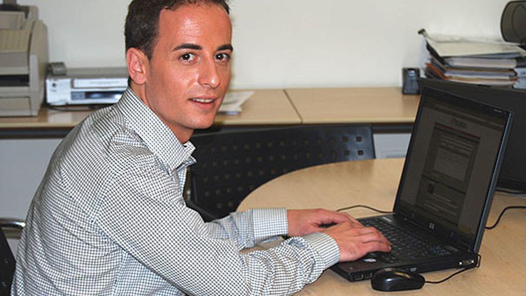 Carlos F visita telecinco.es