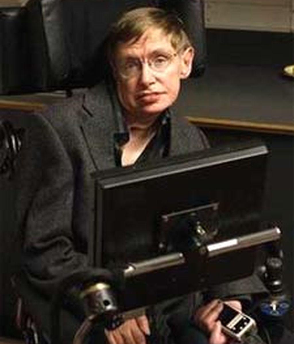Una imagen de archivo del científico Stephen Hawking.