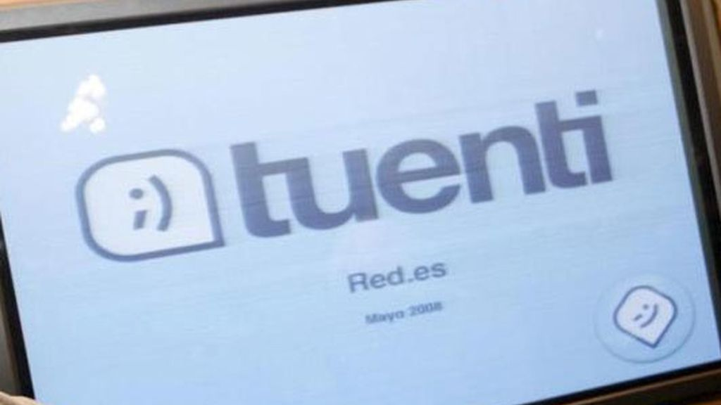 Imagen de archivo de la red social Tuenti.
