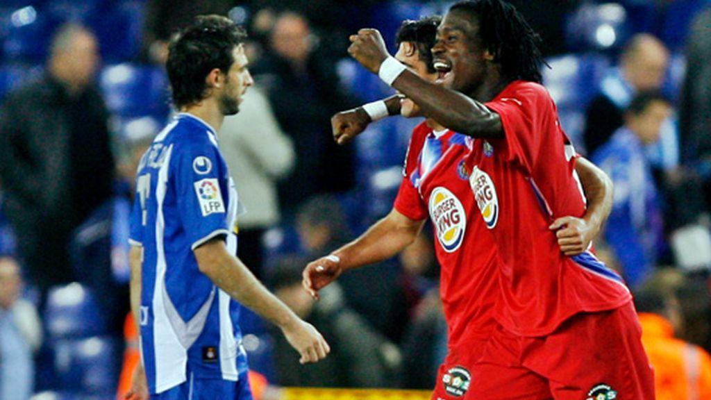 0-2. El Getafe castiga la falta de gol del Espanyol