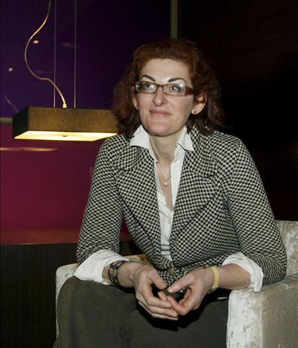 La presidenta de la Fundación Víctimas del Terrorismo, Maite Pagazaurtundua. EFE/Archivo