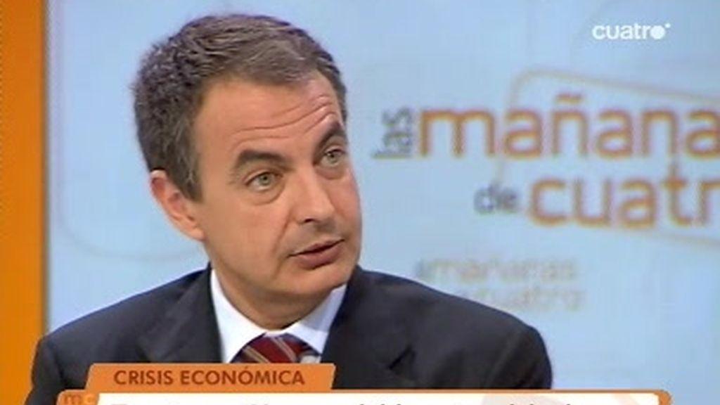 Entrevista al Presidente del Gobierno, José Luis Rodríguez Zapatero