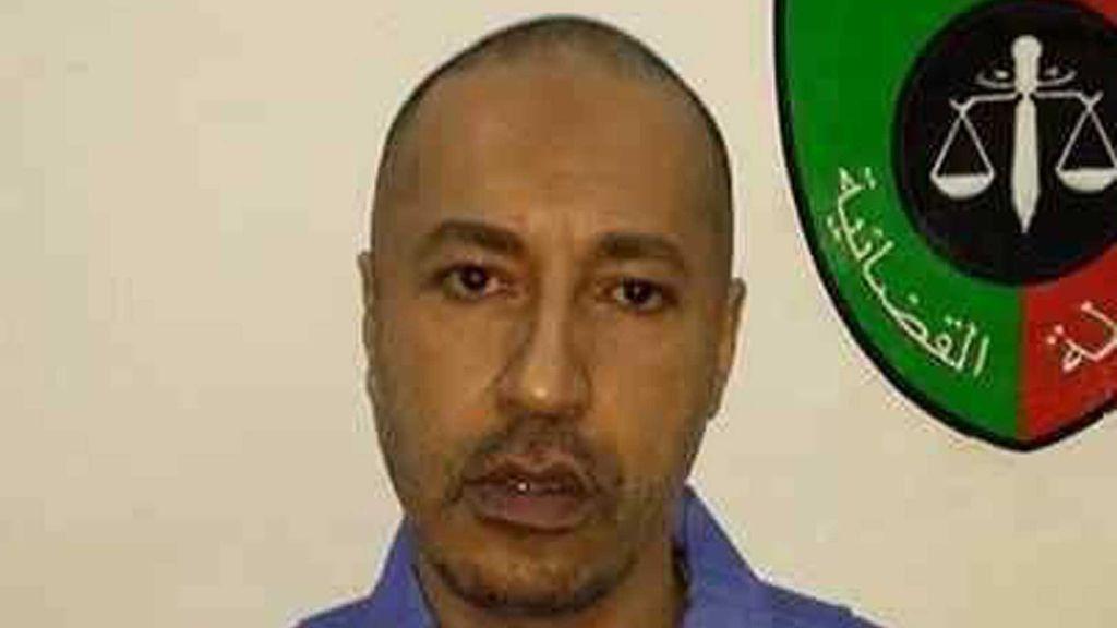 Saadi Gadafi, hijo de Muamar Gadafi