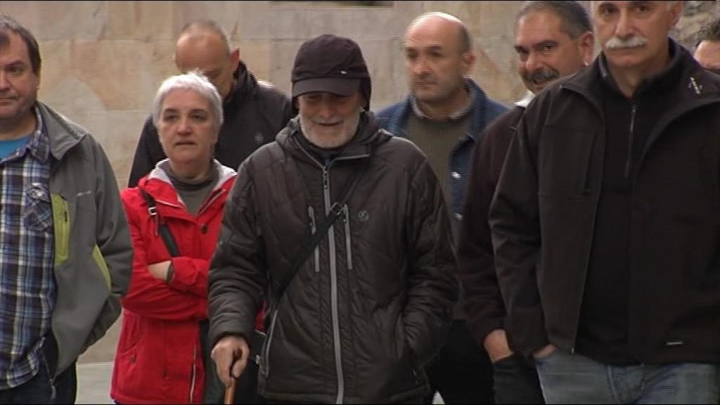 Bolinaga llega a los juzgados de Bergara para declarar por el asesinato de un Guardia Civil