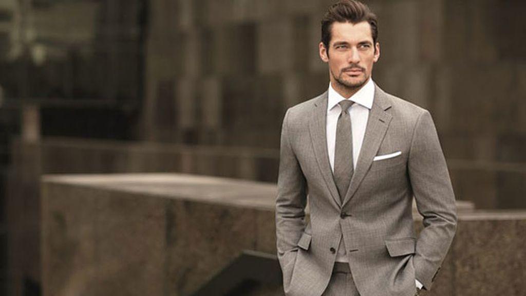 El modelo británico David Gandy, primer puesto entre los internacionales