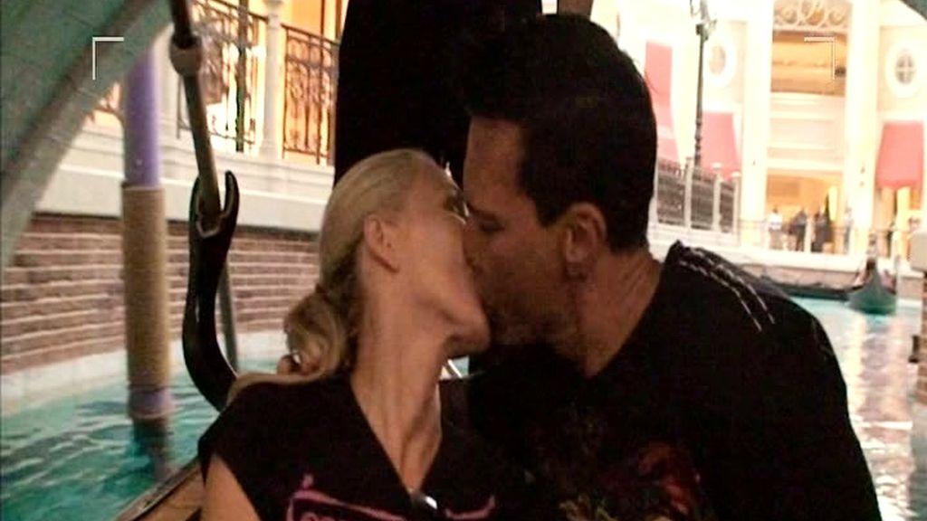 Lisa y Marco, amor en la góndola de Las Vegas