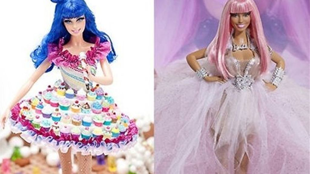 Katy Perry y Nicki Minaj se convierten en Barbies