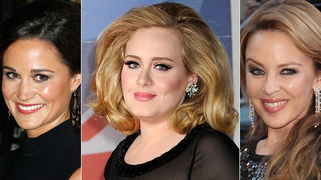 Adele, Kylie, Pippa