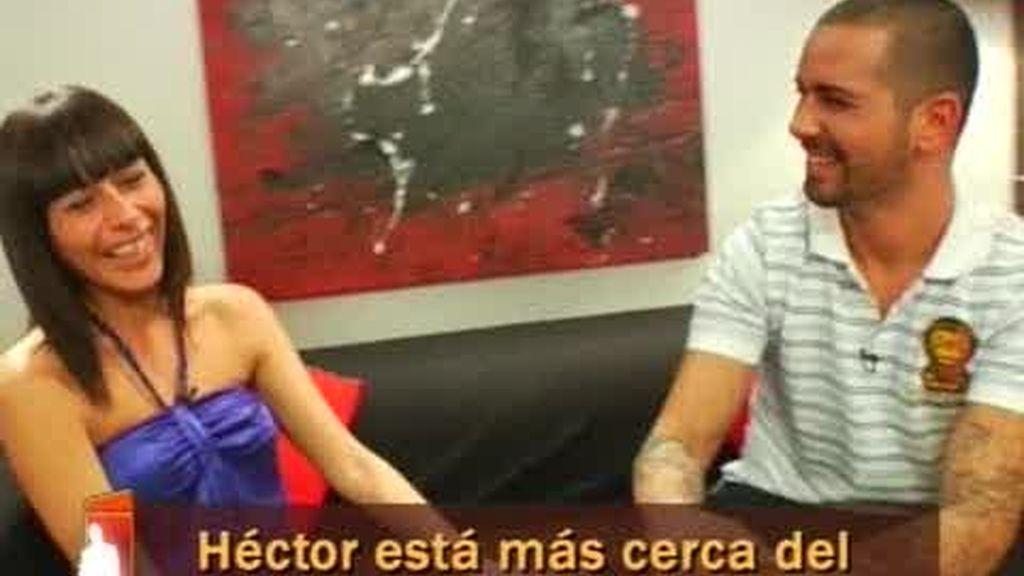 Atracción mutua: Héctor y Vanessa