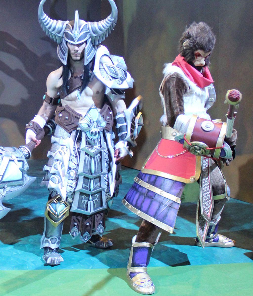 Tryndamere y Wukong, dos campeones de League of Legends