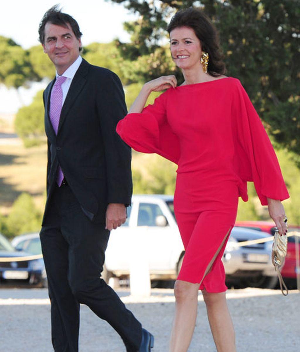 Nuria March acudió acompañada por su marido, José María Pasquín