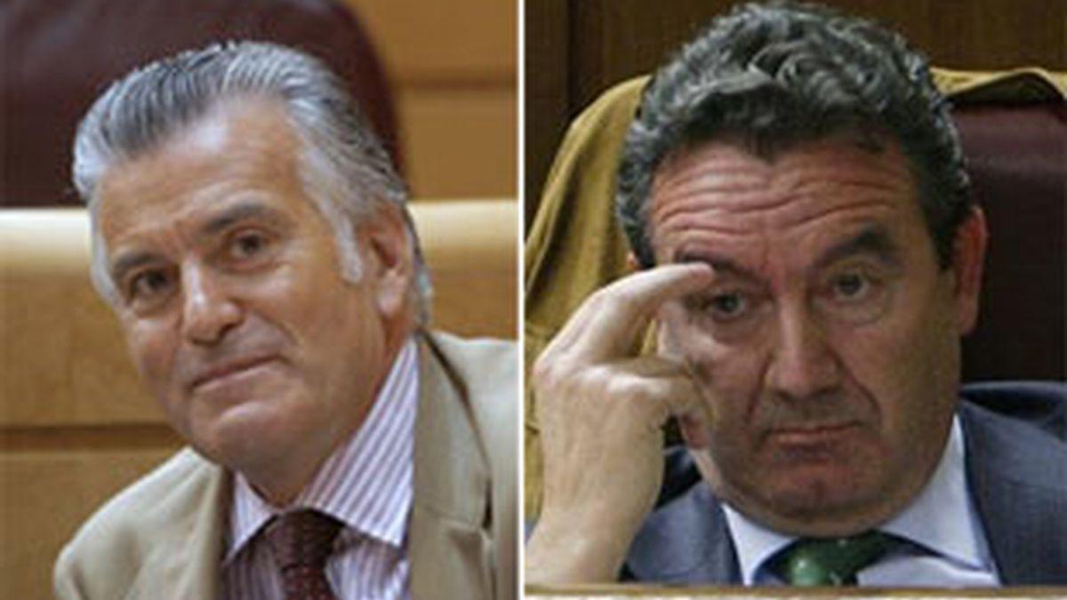 Luis Bárcenas y Jesús Merino renuncian a sus escaños en el Senado y Congreso, respectivamente.