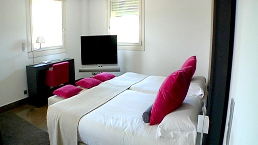 Habitación del hotel de Juan Carlos Ferrero
