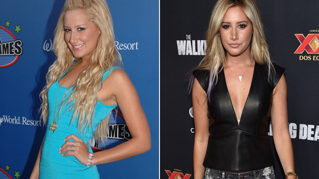 Ashley Tisdale (29) triunfó con su nariz original en 'High School Musica'