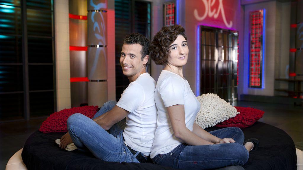 Vanesa y Mario, alumnos de 'Sex Academy'