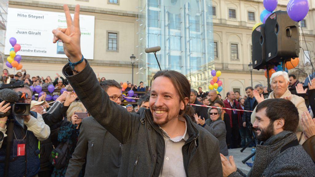 """Pablo Iglesias defiende que """"nadie puede negar el espíritu de remontada"""" de Podemos"""