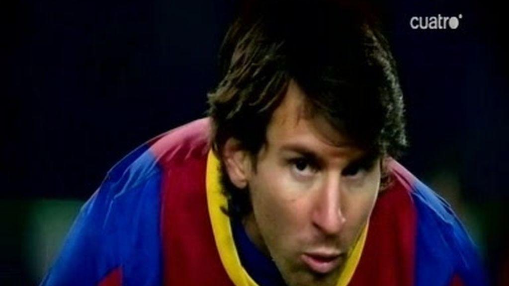 Los números de Messi y Cristiano