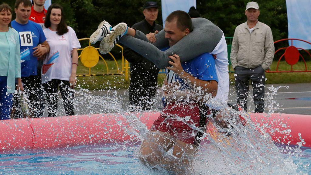 La carrera más romántica celebrada en Rusia (27/06/2016)