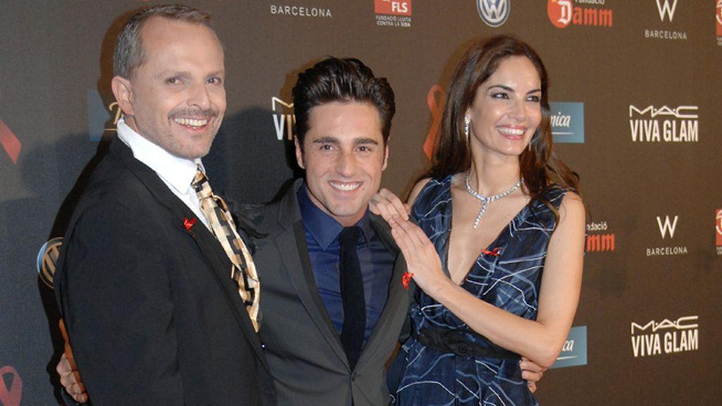 Miguel Bosé y Eugenia Silva son los embajadores de la lucha contra el VIH
