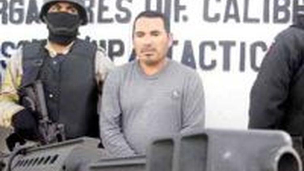 El Ejército capturó en Baja California a Santiago Meza López, El Pozolero, que confesó haber desintegrado en ácido 300 cuerpos. Foto EFE