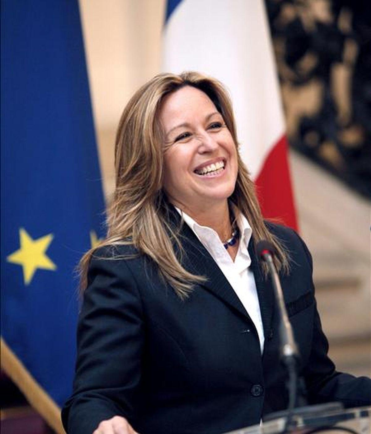 La ministra española de Asuntos Exteriores, Trinidad Jiménez. EFE/Archivo