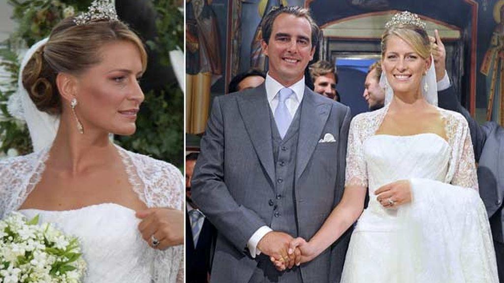25-08-2010 Tatiana Blatnik y el príncipe Nicolás de Grecia/ Spetses (Grecia)