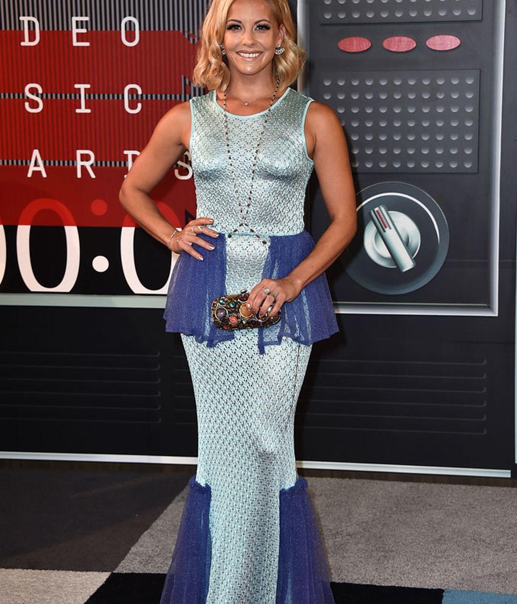 Amy Paffrath en los premios MTV