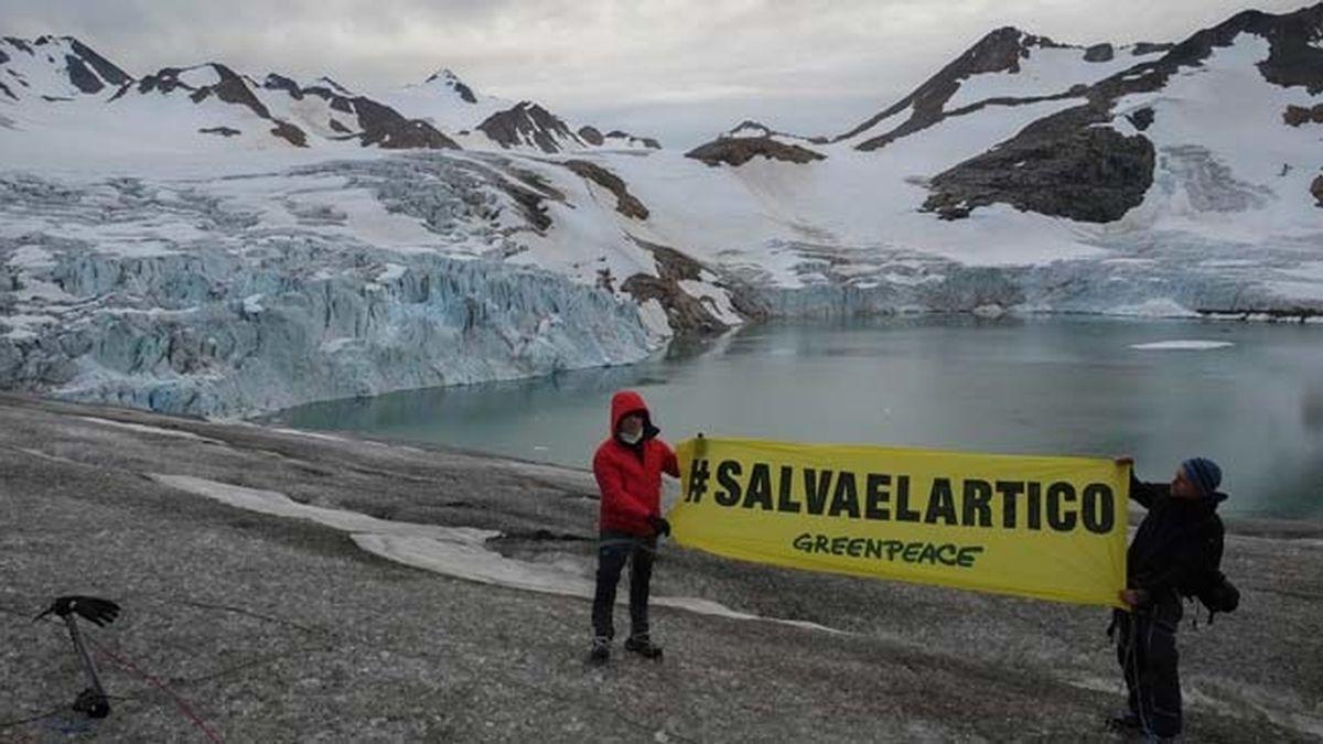 Alejandro Sanz se va Groenlandia para salvar el Ártico con Greenpeace