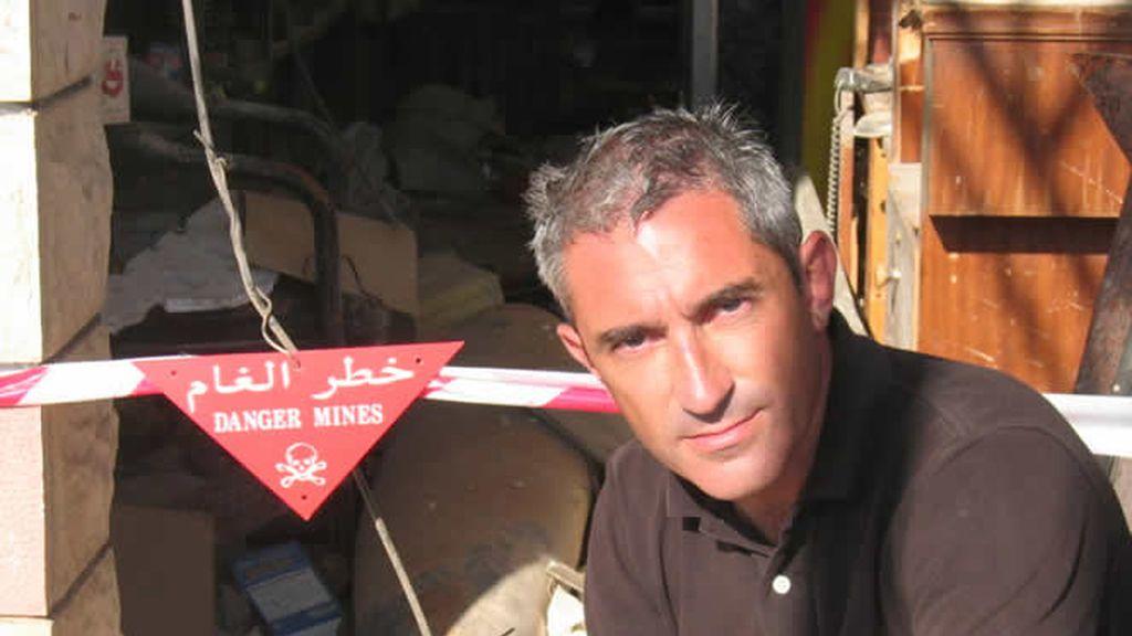 Jon Sistiaga en Libano, territorio minado