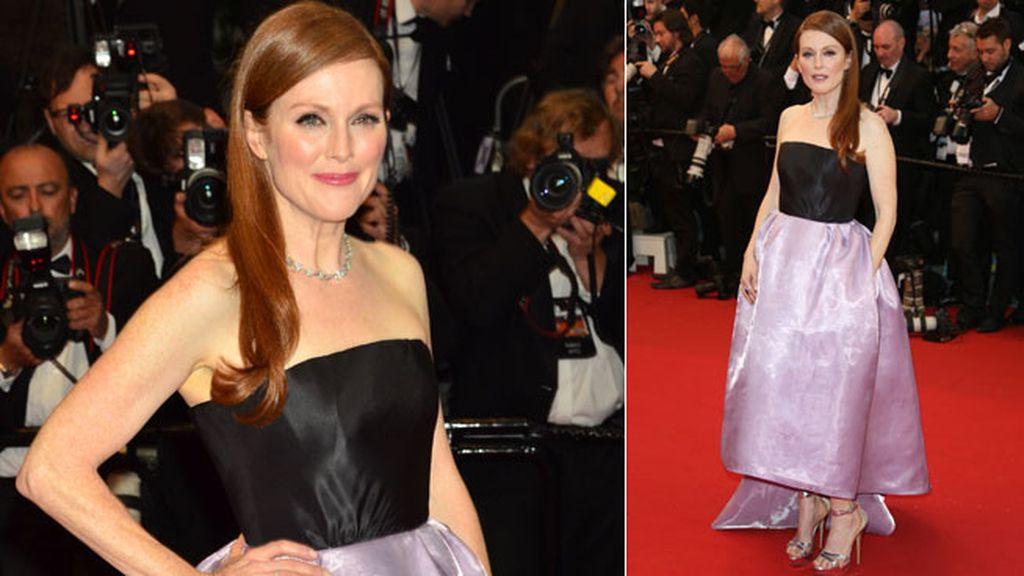 Julianne Moore se decantó por un vestido de Dior