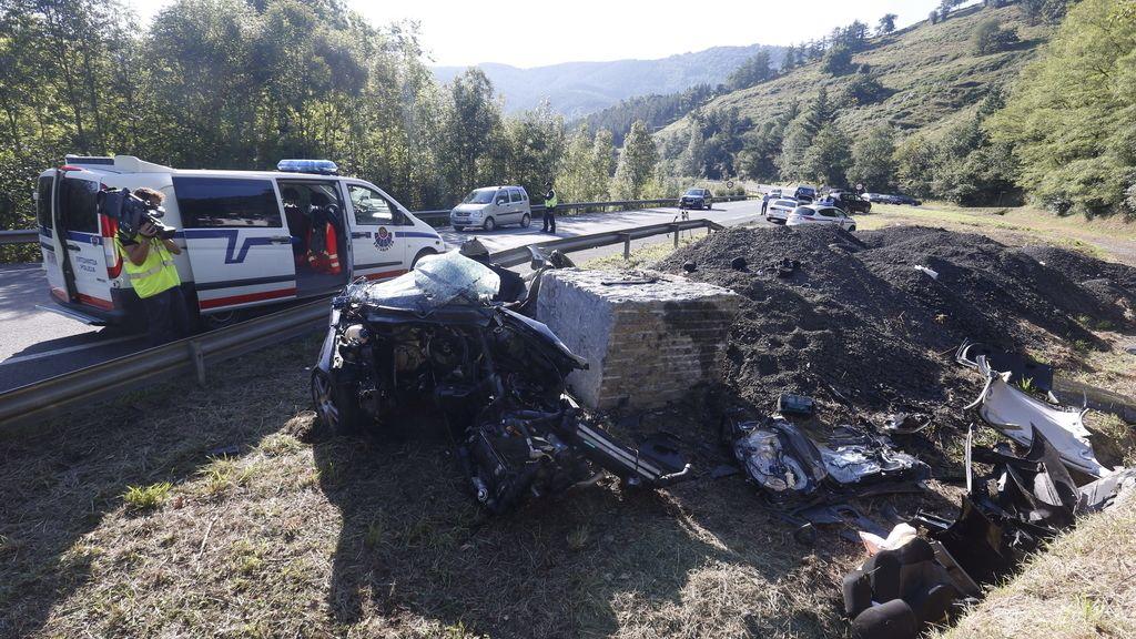 Accidente, carreteras españolas