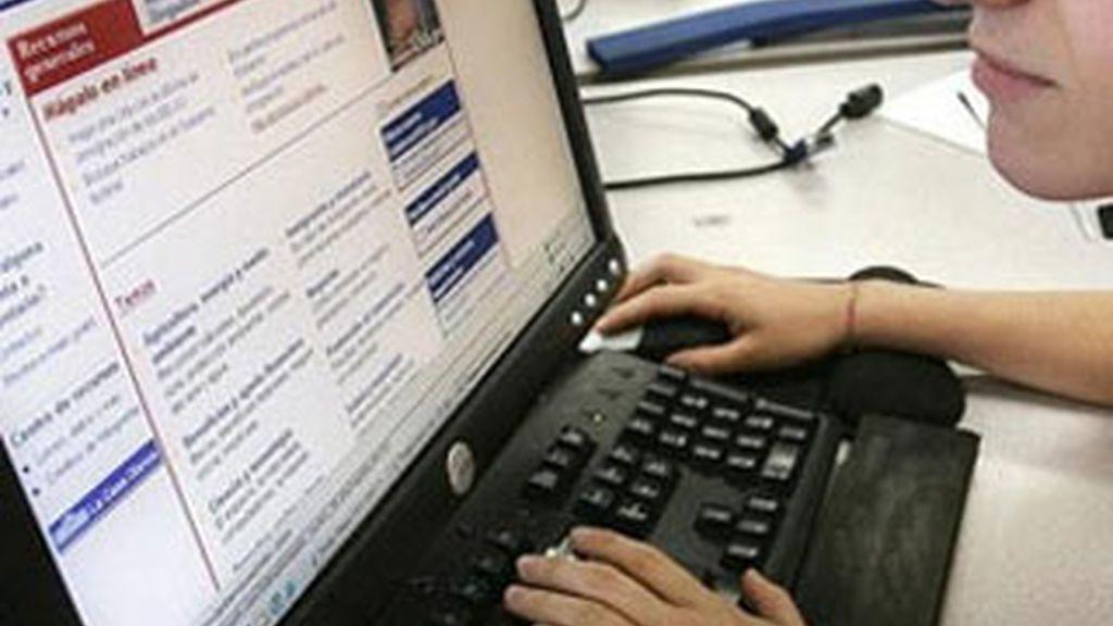 Internet evoluciona en España. Foto: Archivo.