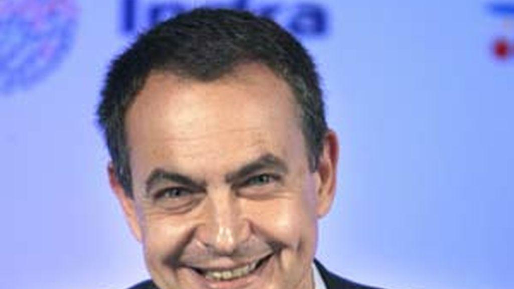 Zapatero, en el Circulo de Economía. Video: ATLAS