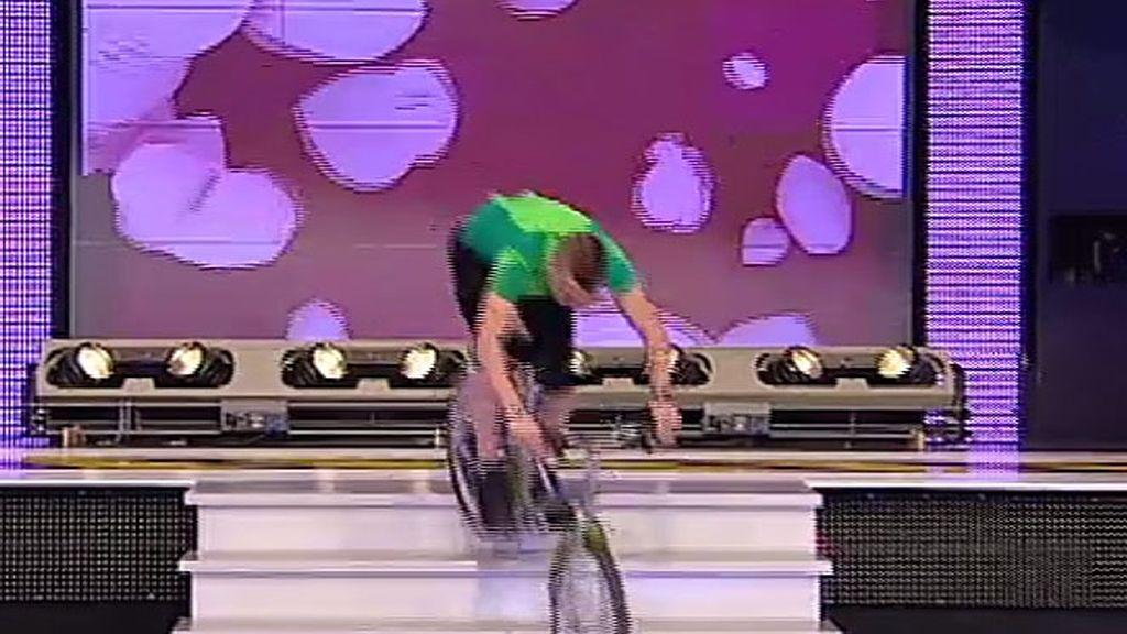 Ilde llega pisando fuerte con su bici