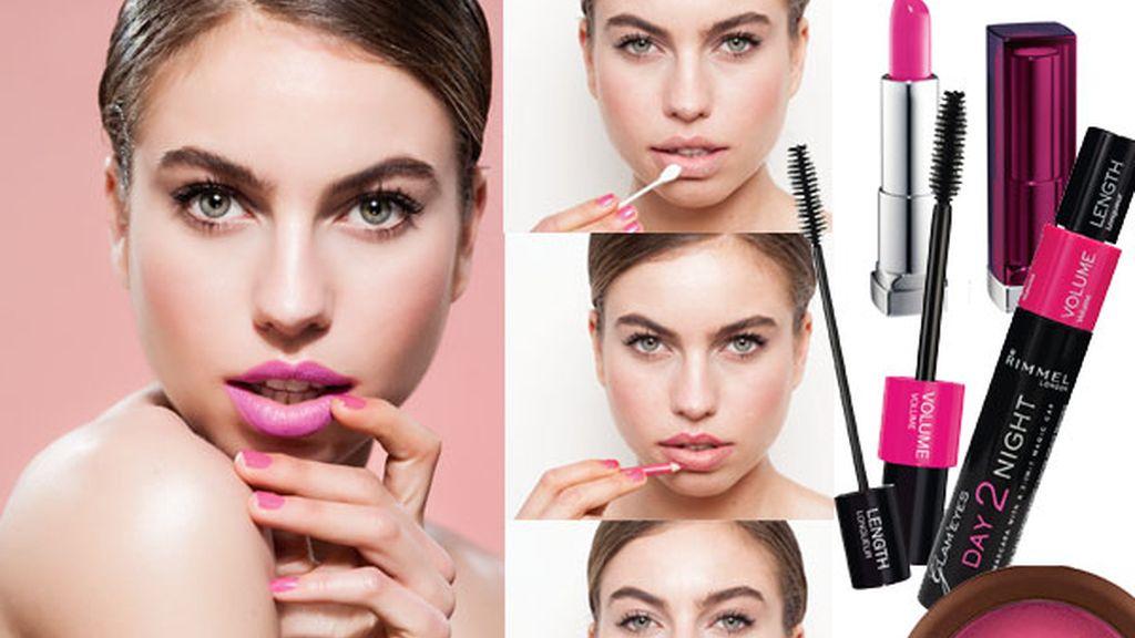 Maquillaje a todo el color