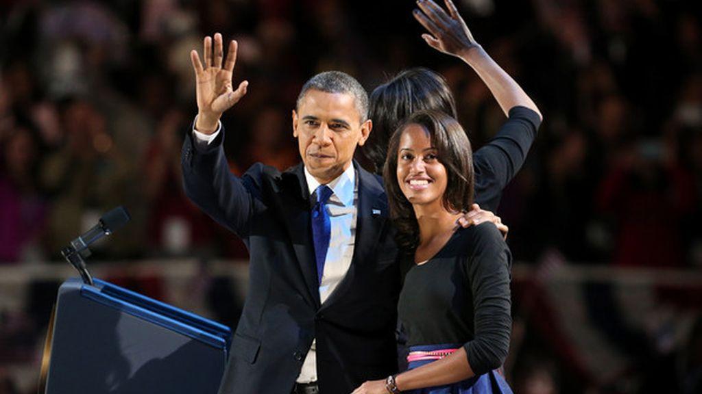Malia Obama,hija de Obama