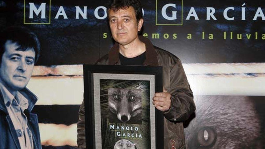 Manolo García, premiado