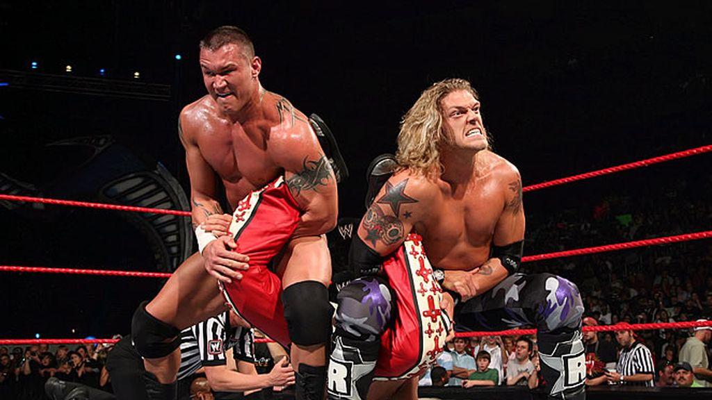 Momentos de los superestrellas en el ring