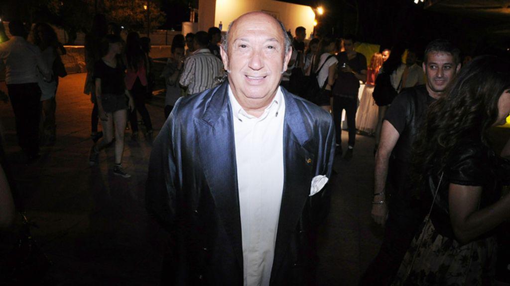 Francis Montesinos fue uno de los diseñadores que participó en el desfile del aniversario de Telva