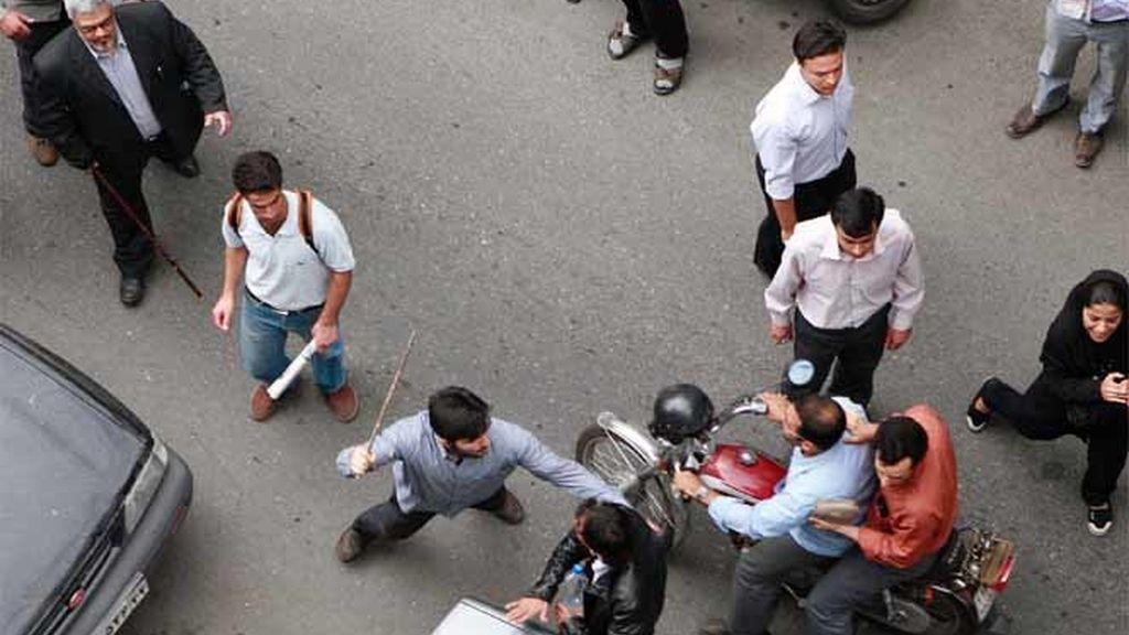 Violencia en Irán