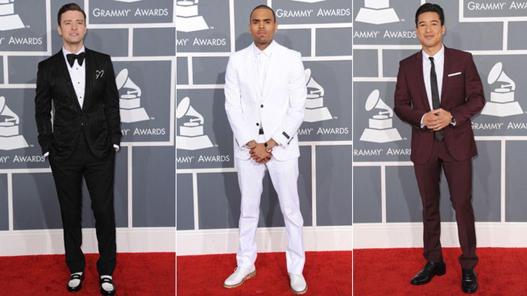 Timberlake, Chris Brown y Mario López fueron los chicos más elegantes