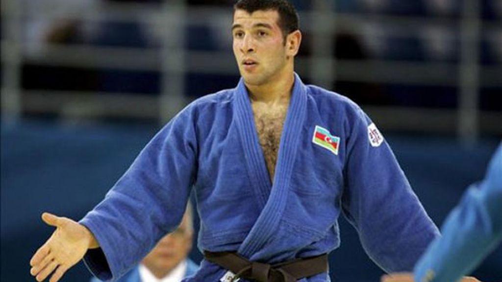 Oro para el azerbaiyano Mammadli en -73kg de judo masculino