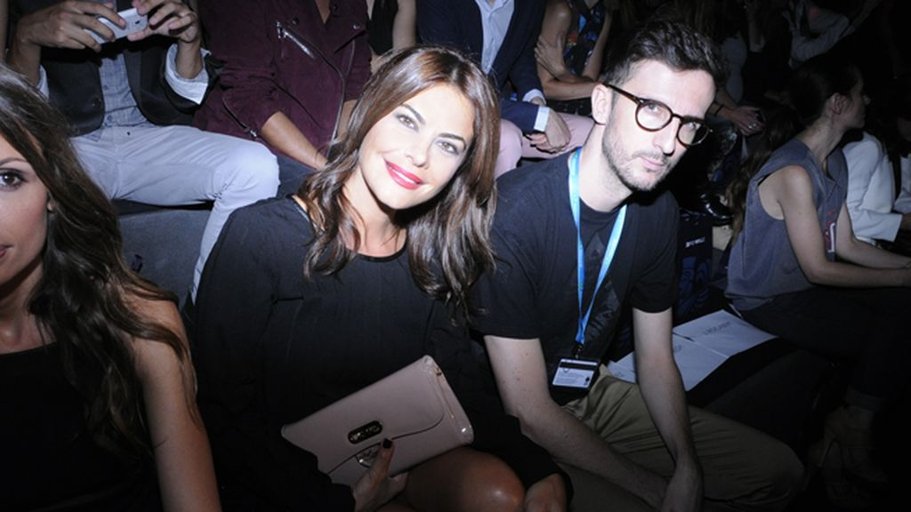 María José Suárez junto a Txema Mirón