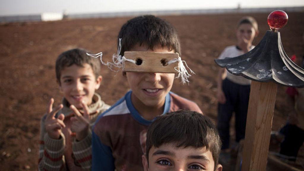 Ya hay más de un millón de niños sirios refugiados