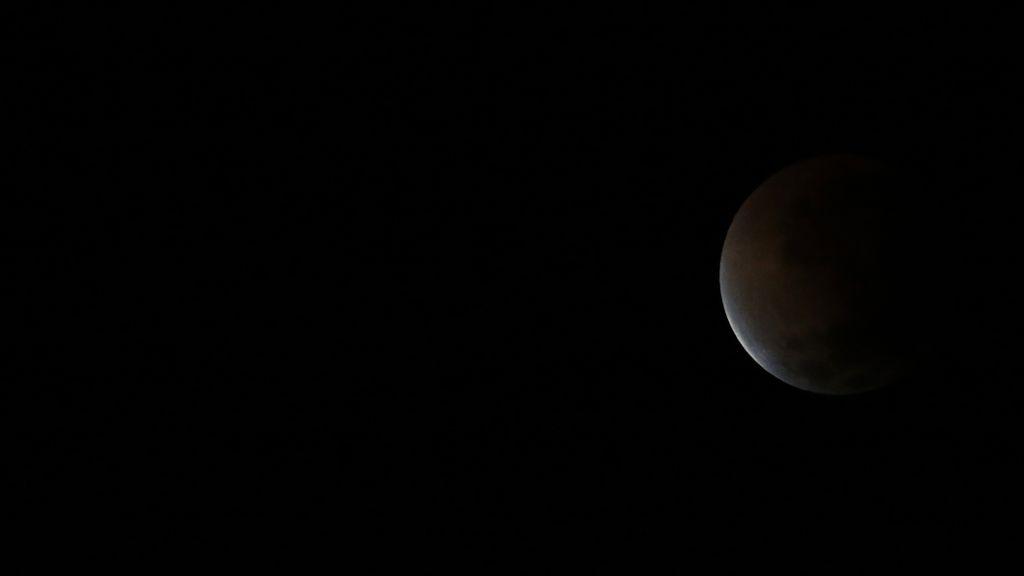 El eclipse de Luna desde Buenos Aires