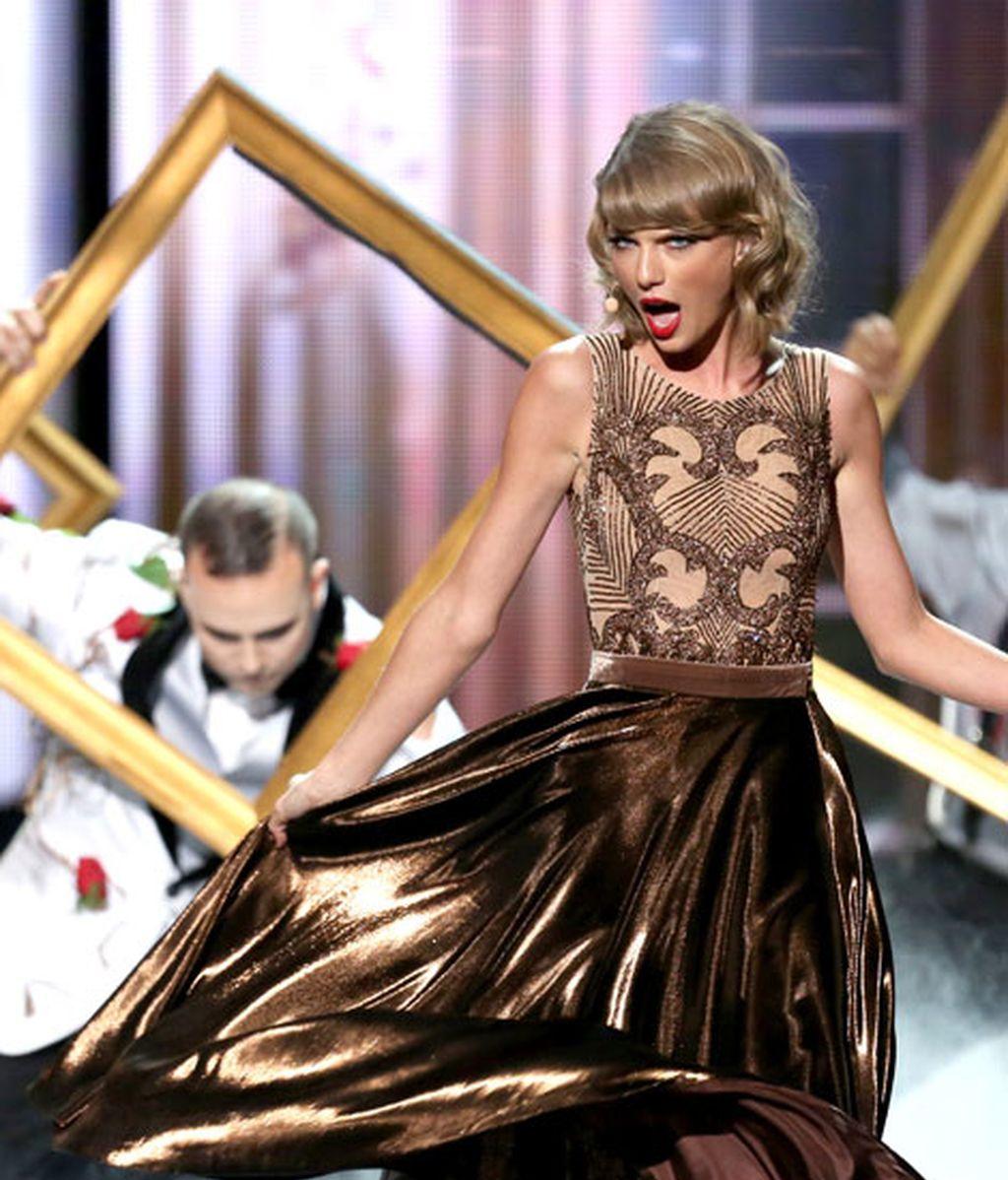 Taylor Swifse hizo con el 'Premio excelencia'
