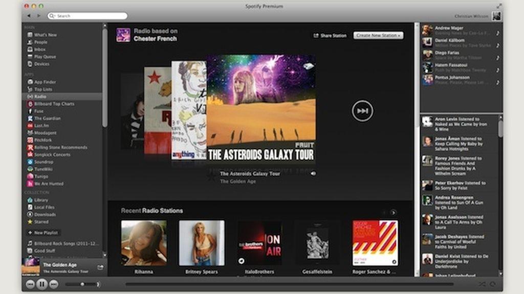 'Spotify Radio' estará disponible tanto para los usuarios gratuitos como para los suscriptores.