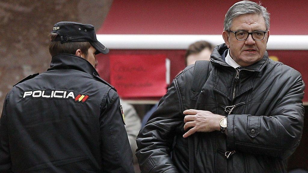 Carlos García Revenga a su llegado a los juzgados de Palma. Foto: EFE